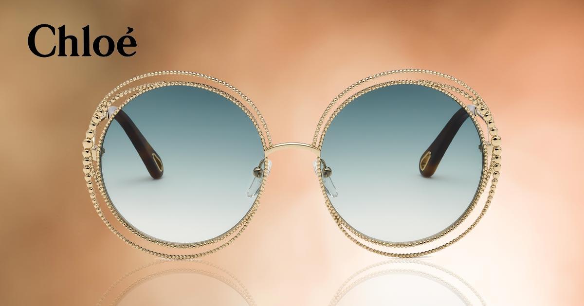 5dcff1e2254 De Chloé zonnebril Carlina is in een nieuw jasje gestoken